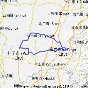 [林森國小-新港-北港-蒜頭糖廠-高鐵大道