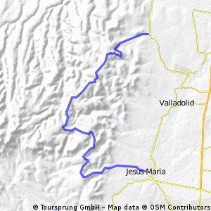 MTB RETO LA CATRINA 2013, 35 KM.