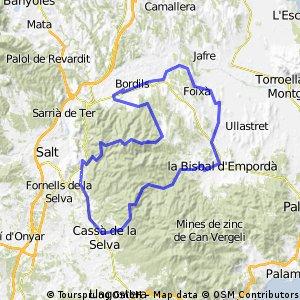 Bordils - Els angels - Santa pelaia - Foixa - Bordils
