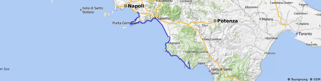 Neapel - Marina di Camerota (Cilento)