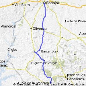 Badajoz -Oliva dlFrontera