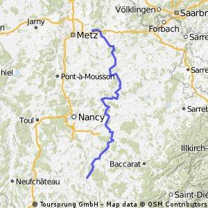 Etappe 3 Glatigny --->Charmes 141,7 km