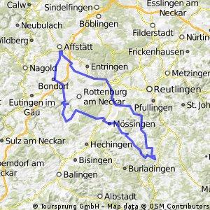 Schwäbische Alb ab Herrenberg