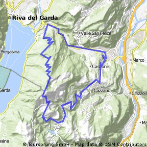 Nago, Brentonico, Monte Altissimo