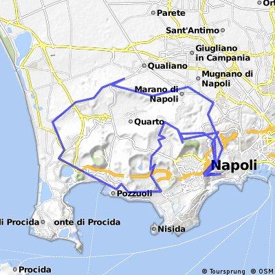 Giro Qualiano-Napoli-Salite