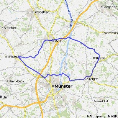 70,2 km - Schmedehausen-Ostbevern-Handorf-Altenberge