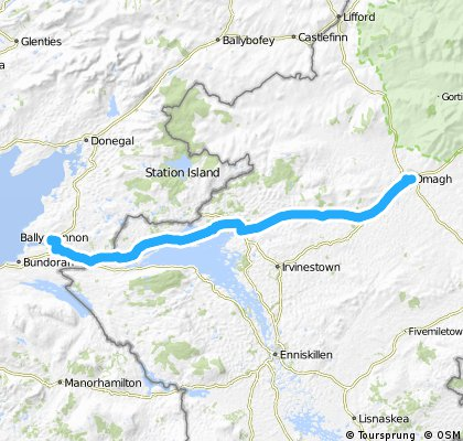 Ballyshannon to Omagh