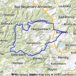 Brohltal - 76 km Permanente der RSF Brohltal e.V.