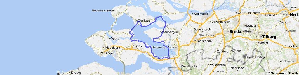 Rondje Oosterschelde - 132km