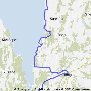 Velomaršruts Tour de LatEst: Vaike-Rakke - Pikasilla