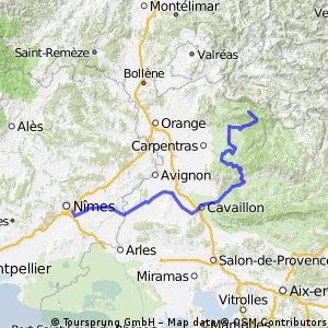 Tour de France Nimes - Mont Ventoux