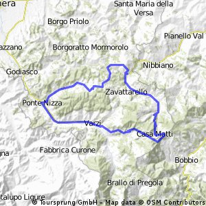 Anello Varzi 70km