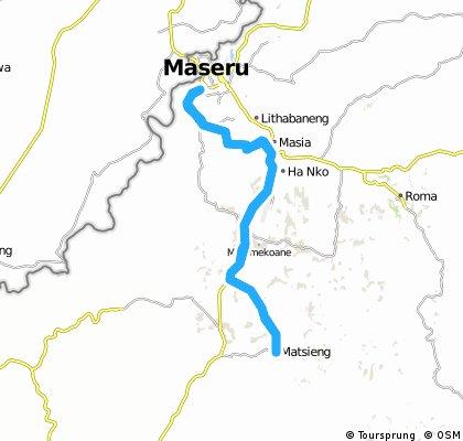 Maseru-Matsieng-Maseru