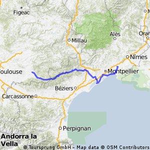 Tour de France Castres - Lunel