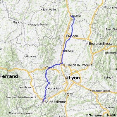 Critérium du Dauphiné Libéré 2009 - TOURNUS - SAINT-ÉTIENNE (Stage 3)