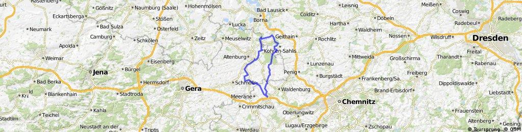 Zwischen Glauchau und Frohburg