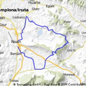 Noain-Ilundain-Elorz-Noain