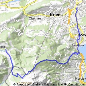 Eigenthal - Fräki - Grenztrail - Luzern