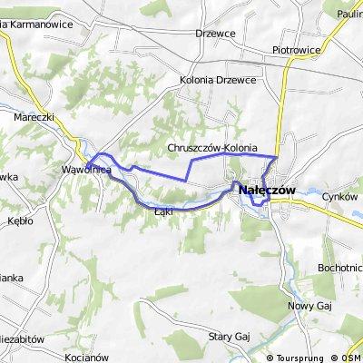 Wąwolnica - Nałęczów - Wąwolnica