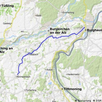 84558 Kirchweidach - Halsbach - Holzen - 84489 Burghausen