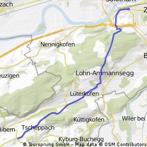 Solothurn - Hessigkofen Quer