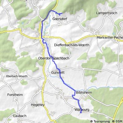 Walbourg-Woerth-Goersdorf