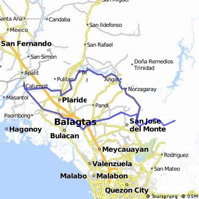 Gatbuca Calumpit - Mount Balabac Norzagaray