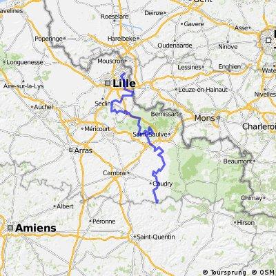 ASO Paris - Roubaix Challenge 2013
