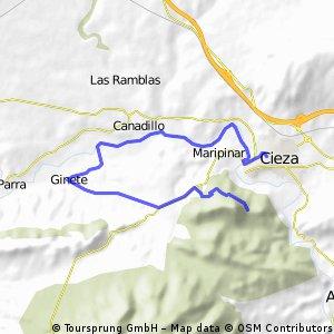 CRI.1ª Etapa de la Vuelta a Cieza