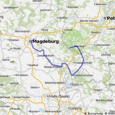 Magdeburg Dessau Wittenberg Medewitz