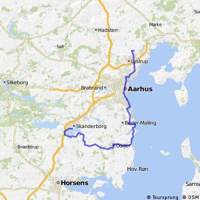 Skanderborg-Hesselballe-74km