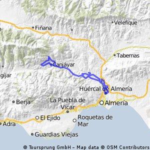ruta II bajo andarax