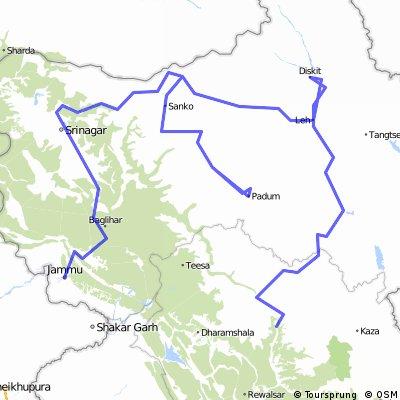 Manali - Leh - Nubra - Zanskar - Jammu August 2012