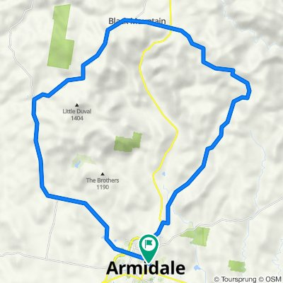 Armidale, Toms Gully, Puddledock loop