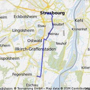Strasbourg - Eschau