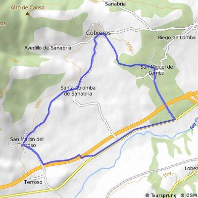 San Miguel de Lomba - San Martin de Terroso - Cobreros