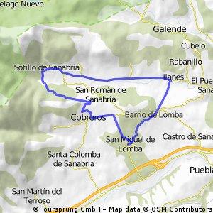 San Miguel de Lomba - Cobreros - Sotillo - Barrio