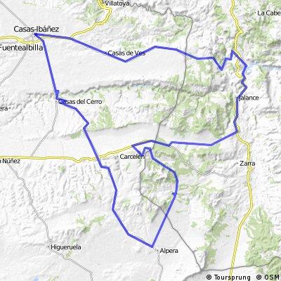 Ruta por el valle de Cofrentes
