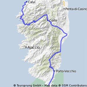 FR Corsica, Mare e Monte Tour