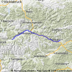 Gloggnitz - Zell am See 2/3