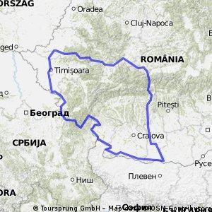 Valea Oltului si defileu Dunarii