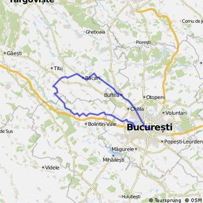 Buc - Joita - Gaiseni - Racari - Buftea - Buc (Pe Baricade)