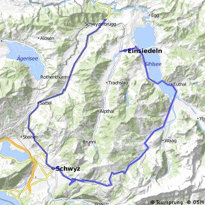 Einsiedeln-Schwyz-Biberbrugg