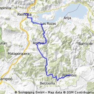 ETAPA 01 - DOMINGO 10 JULIO - REINOSA -ARROYO 11 -MONTES CLAROS 17 - ARROYAL 24 - REOCIN DE MOLINOS 31 - BARCENA DE EBRO 32 -  CUBILLO DE EBRO 39 - BASCONES 42