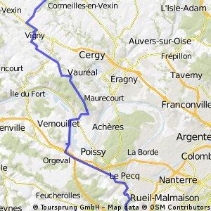 Paris outskirts to Marines