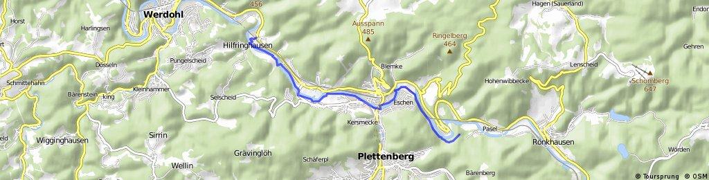 11km Plettenberger Lenne