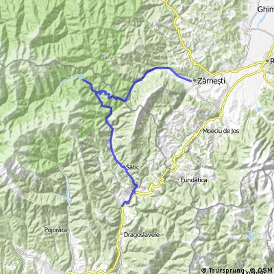 Turul cicloturistic de weekend al Pietrei Craiului - ziua 1