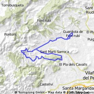ruta sant marti- torrelles alex