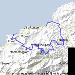 schöne Rundtour in Korsika