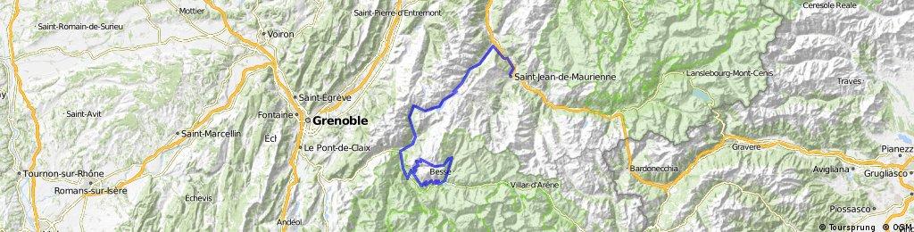 Day 2 - St Jean du Maurienne to L'Alpe d'Huez